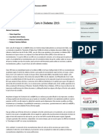 Los Standards of Medical Care in Diabetes 2019. Resumen Redgdps