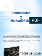 Confiabilidad y Mantenibilidad