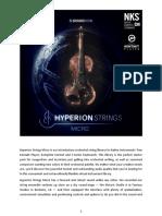Soundiron - Hyperion Strings Micro - User Manual - V1.0