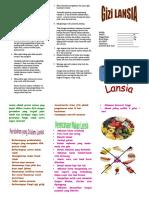 Leaflet Lansia Print