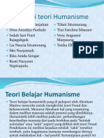 Ciri-Ciri Teori Humanisme