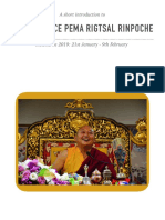 A Biography of Pema Rigtsal Rinpoche
