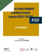 Presentación proyecto de Smart Cities NODOS-TURISMO