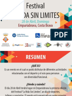 Festival La Vida Sin Limites