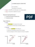 IBDP Economic HL  Chapter 5 Notes