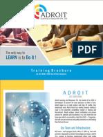Training Brochure 1