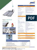 Solarizer Spring Data Sheet