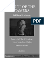 William Rothman - Vertigo - Unknown Woman in Hitchcock (in ''The I of the Camera'', 1988, Chapter 18)