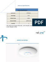 Antenna Specications Wi-Fi