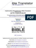 6 Esala - Implementing Skopostheorie in Bible Translation (2013) Copy