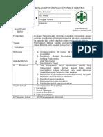 SPO Evaluasi Penyampaian Informasi