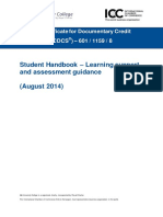 (2) CDCS Student Handbook - Learning Support and Assessment Guidance - FINAL - Version 02 - 04.08.2014