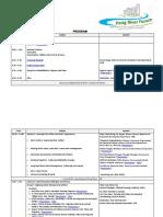 Pasig River Forum Program Materials