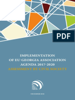 Implementation of EU-Georgia Association Agenda 2017-2020 Assessment by Civil Society