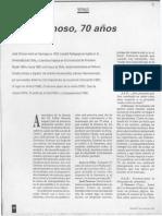 José Donoso 70 Años