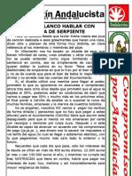 Villamartín Andalucista Hojilla del 22 de Octubre 2010