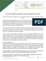 Facundo Manes Presenta El Cerebro Argentino en El c3