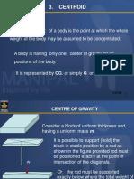 3. Centroid of Plane Area
