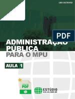 ADMINISTRAÇÃO - ORGANIZAÇÃO