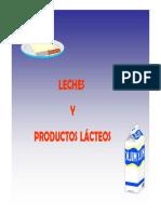 Procesos productos lacteos