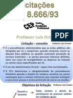 CEP Licitações Nova - Professor Luis Octavio