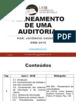Planeamento de Uma Auditoria1