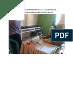 Dokumentasi Proses Pelaksanaan Kajian