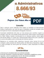CEP Contratos Administrativos - Lei 8.666 - Professor Luis Octavio