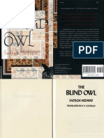 Hedayat, The Blind Owl