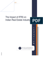 The Impact of IFRS on Indian Real Estate Industry