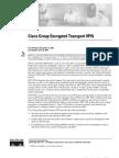 Cisco GETVPN Documentation