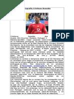 Biografía Cristiano Ronaldo