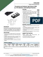 Datasheet VCNL4020