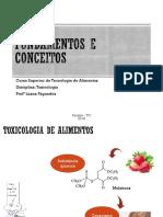 Aula 1 - Fundamentos e Conceitos da Toxicologia