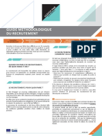 Guide Methodologique - Recrutement-Integration