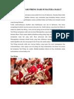 Sejarah Tari Piring Dari Sumatera Barat Disertai Gambar Dan Penjelasan Lengkap