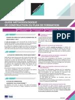 Guide Methodologique - Construction de Plan de Formation