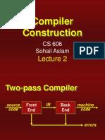 Compiler Construction - CS606 Power Point Slides Lecture 02