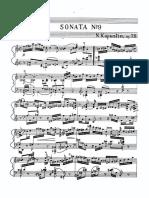 Op.78 - Piano Sonata No. 9