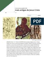 As 6 Imagens Mais Antigas de Jesus Cristo