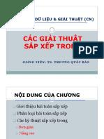 Chuong 4 - Cac Giai Thuat Sap Xep Trong