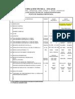 Coordinacion_proteccion y Espeficaciones para Postes