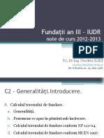c2 - Fundații an III _ Iudr
