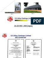 G S Alloys Castings Limited (1)