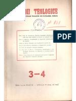70647883 Pr Prof Ene Braniste Teologia Icoanelor Izvoarele Principale Ale Teologiei Icoanelor in Rev Studii Teologice 1952 Nr 3 4