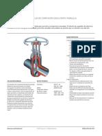 Product Data Sheet Dewrance Válvulas de Compuerta Deslizante Paralela Sempell Es Es 5193524