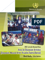 CNB - Educación Artística - Ciclo Básico - Guatemala