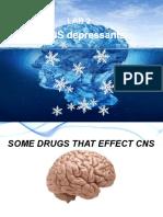 CNS Deprassent Drug