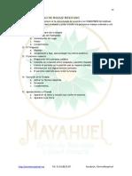 Protocolo de Masaje Mex
