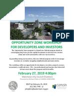 Opportunity Zone Watertown NY